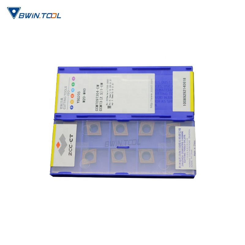 Low price for Turning Tool Insert – CCMT09T308-EM YBG205 ZCC-CT Original CNC Cutting Insert – Bwin