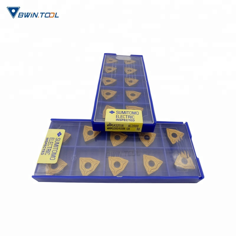 WNMG080408 Tungsten Carbide Material and External Turning Tool High Quality Turning Inserts
