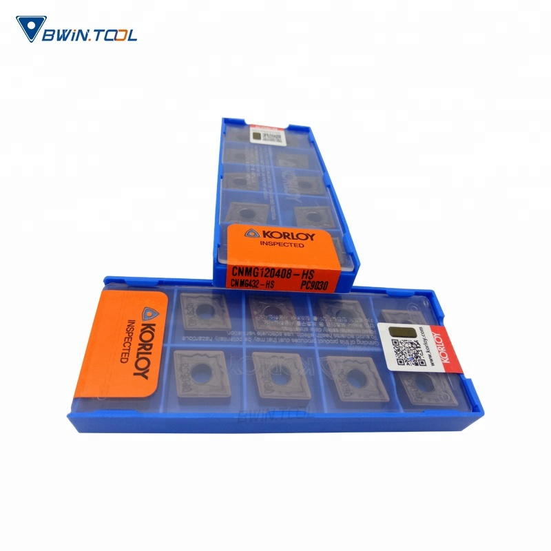 45-65 HRC Hardness and Tungsten Carbide Material CNMG120408 Korloy cutting tool turning inserts