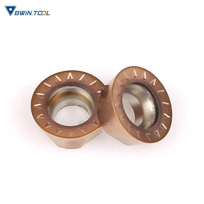 China Manufacture good quality RPMT10T3MOE Carbide Milling Insert