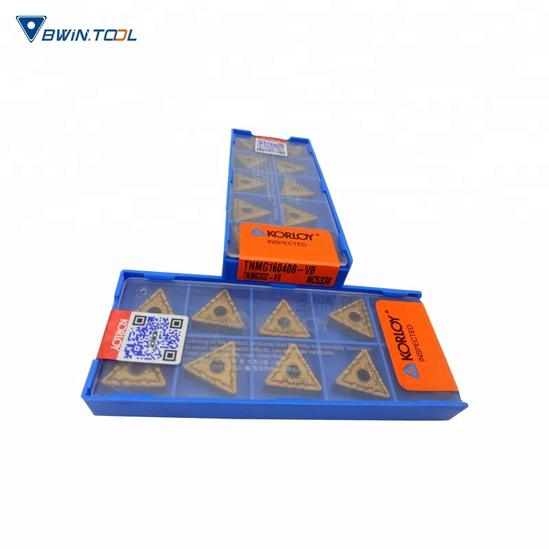 Excellent quality Insert Carbide Tool - HRC 40/60 Hardness CNC korloy Carbide Inserts tnmg160408 – Bwin