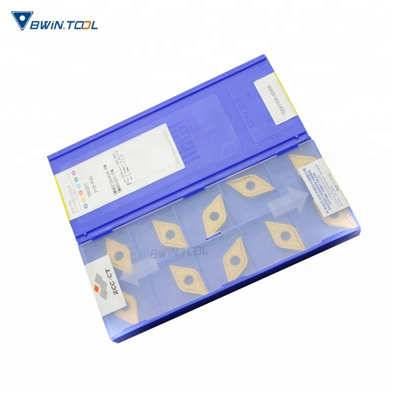 Factory Supply Solid Carbide Insert - ISO ZCC-CT Carbide turning Insert DNMG150404-PM YBC251 indexable carbide insert – Bwin