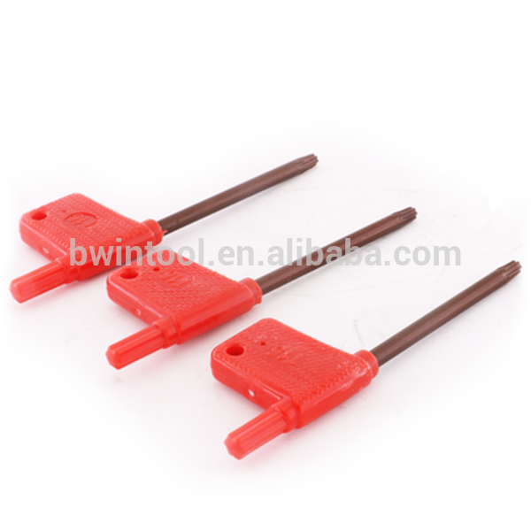 red falg torx key wrench T6,T7,T8,T9,T10 Spanner wrench