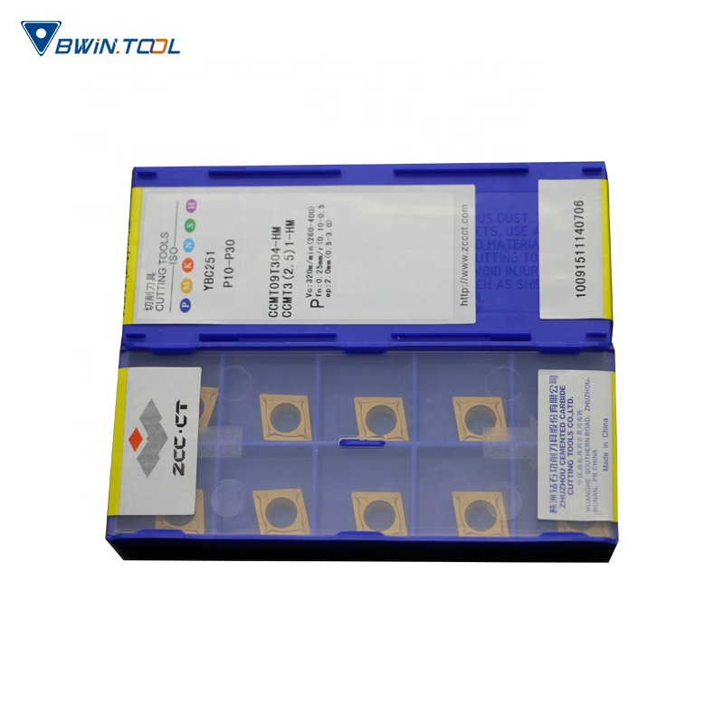 China wholesale Cutting Tools - Steel Cutting tool CCMT09T304-HM YBC251 ZCC-CT cnc Carbide Turning Insert – Bwin