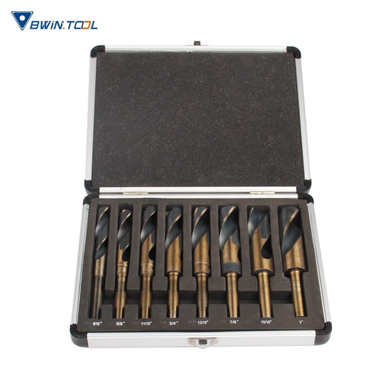 High Quality HSS 4241 Inch Morse Taper Shank Drill Bit Set for Stainless Steel and Matel Drilling