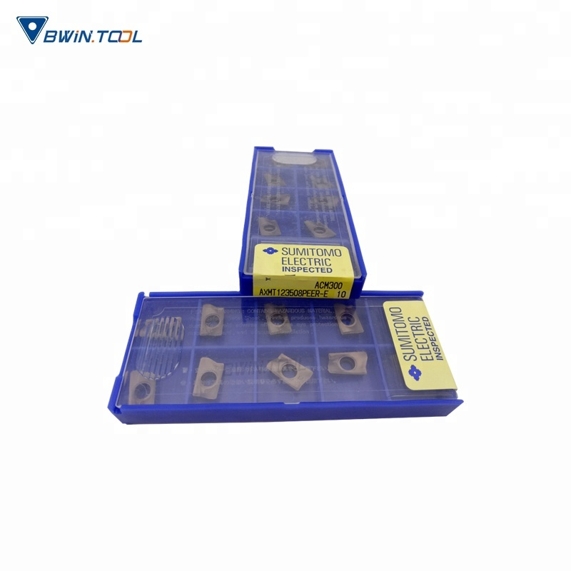 Sumitomo cutting tool carbide milling insert AXMT123508PEER-E-ACM300 for cnc machine