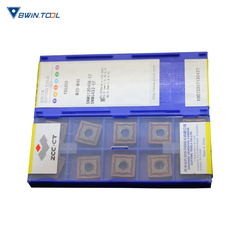 SNMG120408 Supplier CNC lathe Carbide cutting tools inserts For Rough Machining