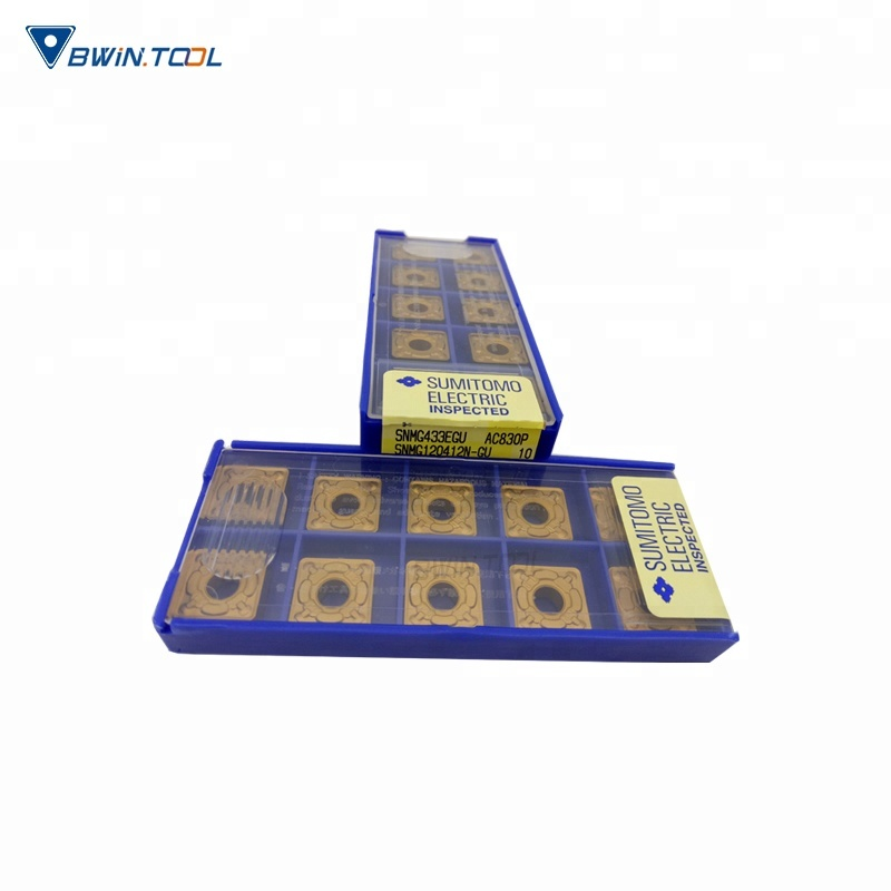 China wholesale Cutting Tools - SNMG Cutting Tools Sumitomo Carbide Indexable Turning Inserts any cut inserts – Bwin