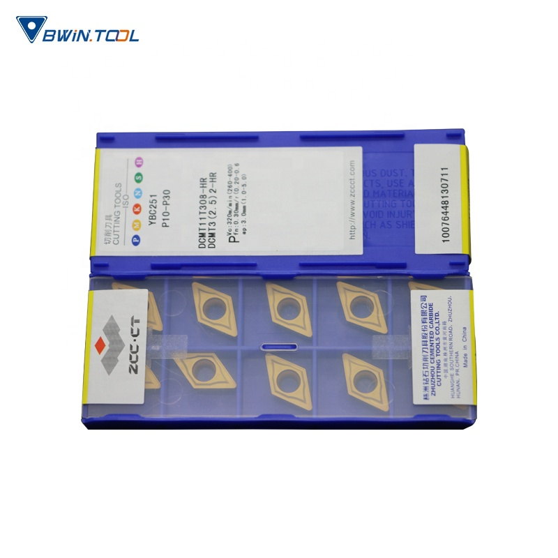 2019 wholesale price Insert Carbide - DCMT11T308-HR YBC251PVD Coating ZCC-CT carbide insert tooling for metal cutting Tools – Bwin