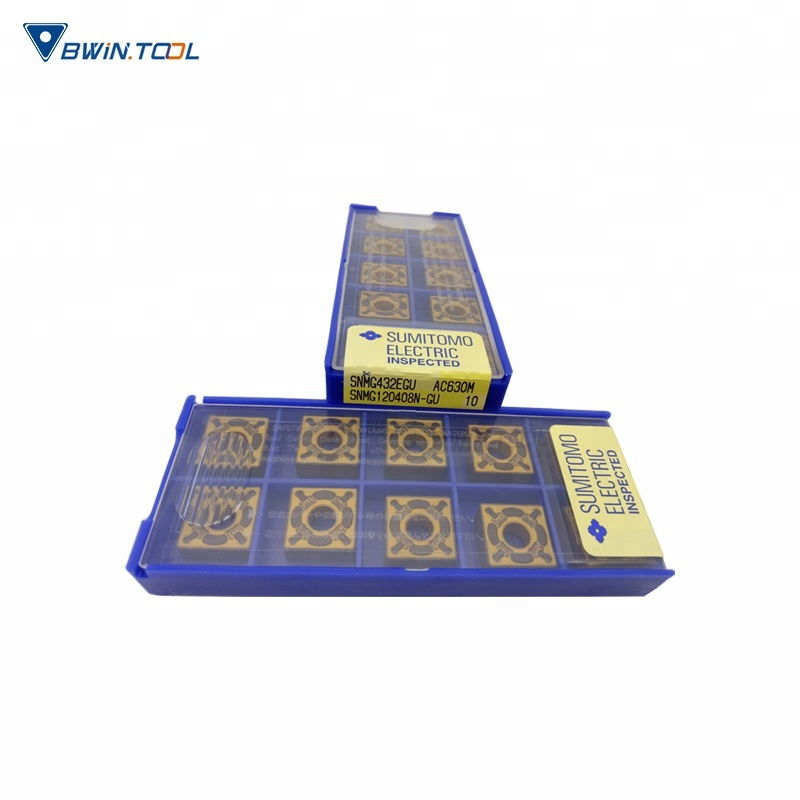 Best selling steel working Sumitomo Turning Carbide Inserts snmg120408cutting insert
