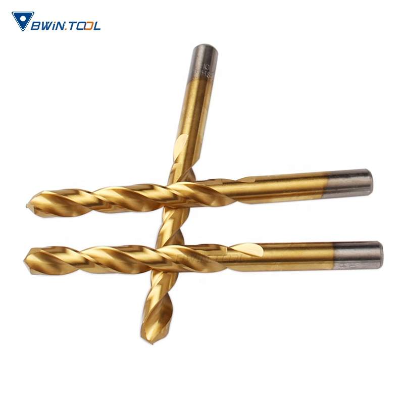 Best sale High quality HSS 6542 coated TIN D10.5 twist drill bits for metal cutting