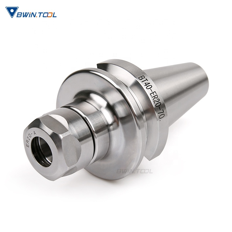 Bwin manufacture high quality  lathe BT40 tool holder milling chuck bt40 tool holder