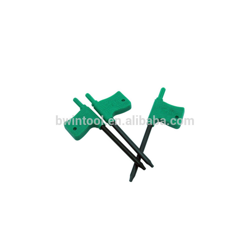 Flag plastic Handle Torx keys T5.T6.T8.T10.T12